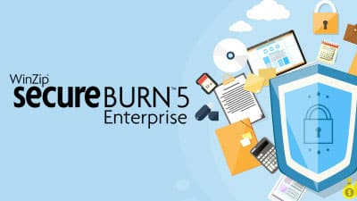 WinZip Secure Burn Enterprise