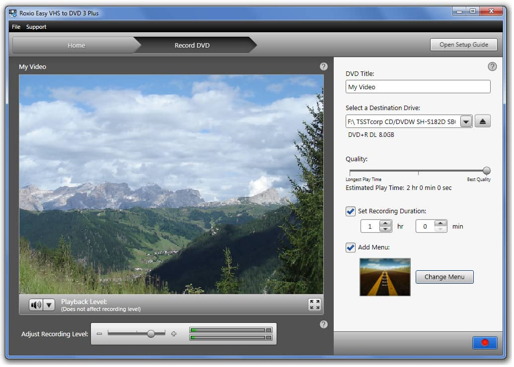 Zealotsoft AVI to VCD SVCD DVD Converter v1.5.7 weergeven