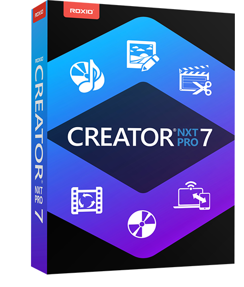 CD Burning, DVD Burning, and bonus software ‒ Creator NXT 7