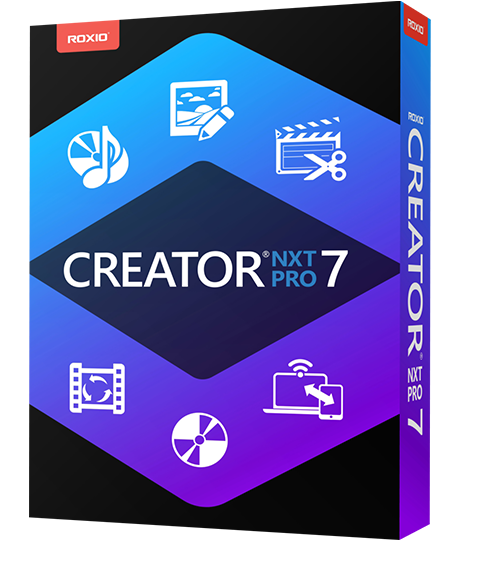 CD & DVD Burning Software ‒ Creator NXT 7 Family by Roxio