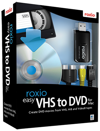 Easy VHS to DVD voor Mac
