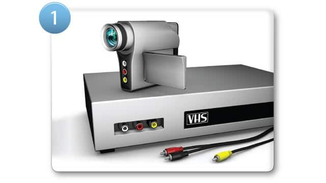 Digitise your old videos onto DVD with just a few clicks