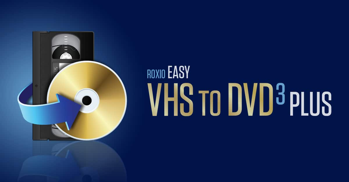 VHS to DVD Converter   Easy VHS to DVD by Roxio