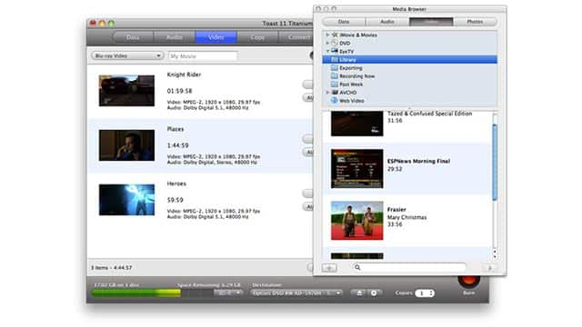 Build a library of your EyeTV videos!