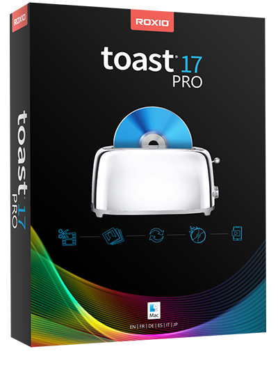 dvd burning software for Mac - Roxio Toast Pro