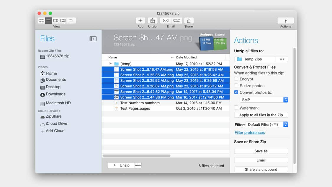 WinZip for Mac*