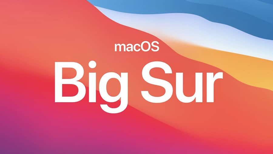 Optimized for macOS Big Sur
